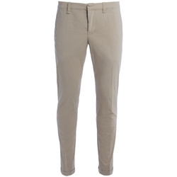 Clothing Men Trousers Dondup Pantalone Don Dup Gaucho beige Beige