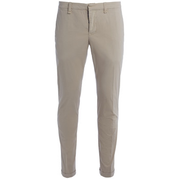 Clothing Men Trousers Dondup Don Dup Gaucho beige trousers Beige