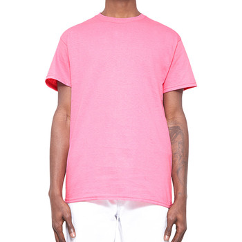 Clothing Men short-sleeved t-shirts The Idle Man Classic T-Shirt Pink Pink