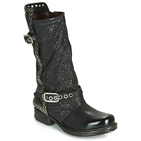 Shoes Women High boots Airstep / A.S.98 SAINT EC BUCKLE Black