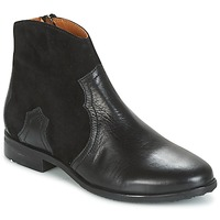 Shoes Girl Mid boots Adolie ODEON WEST Black