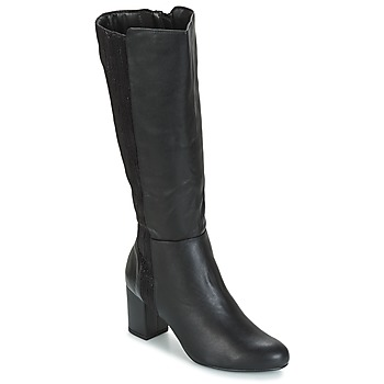 Shoes Women High boots Moony Mood GINA Black
