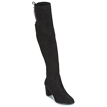 Shoes Women Thigh boots Moony Mood GIMMY Black
