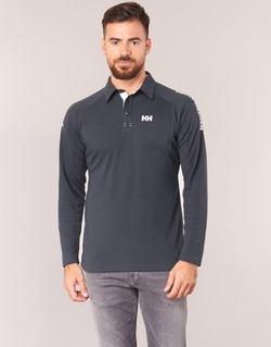 Clothing Men long-sleeved polo shirts Helly Hansen HP SHORE Marine