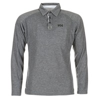 Clothing Men long-sleeved polo shirts Helly Hansen HP SHORE Grey