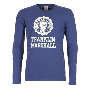 Clothing Men Long sleeved tee-shirts Franklin & Marshall DESTU MARINE