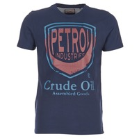 Clothing Men short-sleeved t-shirts Petrol Industries TIRCO MARINE