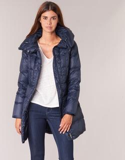 Clothing Women Duffel coats Benetton MOSTE Marine