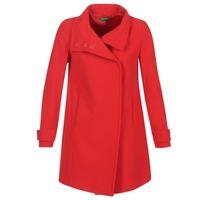 Clothing Women coats Benetton MERCRA Red