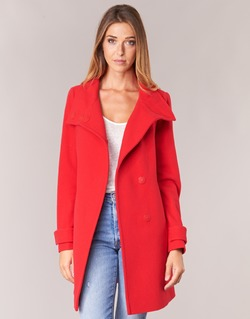 Clothing Women coats Benetton MERCRA Red