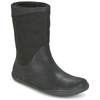 Shoes Women Mid boots Camper PEU CAMI Black