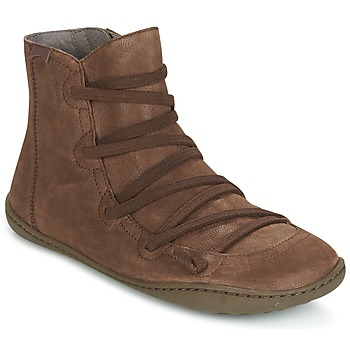Shoes Women Mid boots Camper PEU CAMI Brown