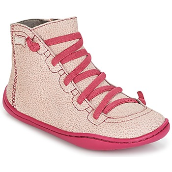 Shoes Girl Hi top trainers Camper PEU CAMI Pink