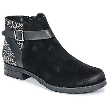 Shoes Women Mid boots Bunker COTO Black