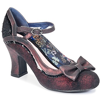 Shoes Women Heels Bunker SMART BORDEAUX