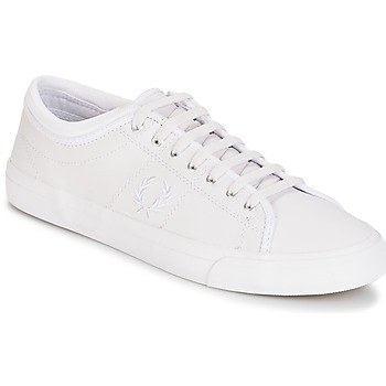 Shoes Men Low top trainers Fred Perry KENDRICK TIPPED CUFF LEATHER White