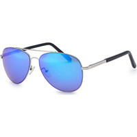 Watches Sunglasses Bloc Dune 2 Sunglasses - Silver / Blue Polarised Silver