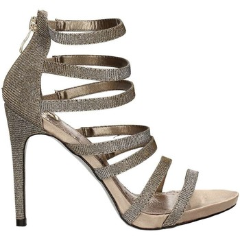 Shoes Women Sandals Osey SA0420 High heeled sandals Women Grey Grey