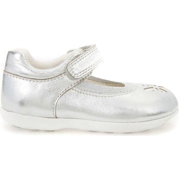 Shoes Children Flat shoes Geox B7226A 000Y2 Ballet pumps Kid Argento