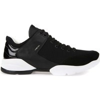 Shoes Women Walking shoes Geox D642NA 08885 Sneakers Women Black Black