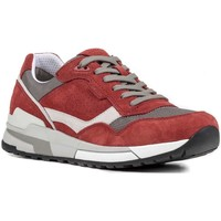 Shoes Men Walking shoes Geox U722HC 02214 Sneakers Man Red Red