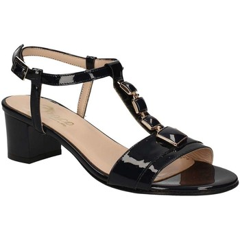 Shoes Women Sandals Grace Shoes E7813 High heeled sandals Women Black Black