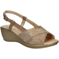 Shoes Women Sandals Grace Shoes EL711 Wedge sandals Women Beige Beige