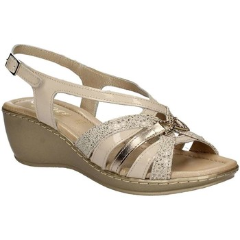 Shoes Women Sandals Grace Shoes EL713 Wedge sandals Women Beige Beige