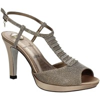 Shoes Women Sandals Osey SA0443 High heeled sandals Women Grey Grey