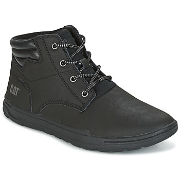 Shoes Men Mid boots Caterpillar CREEDENCE  black