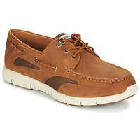 Shoes Men Boat shoes Sebago CLOVENHITCH LITE Tan
