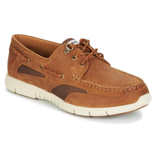 Shoes Men Boat shoes Sebago CLOVENHITCH LITE Tan