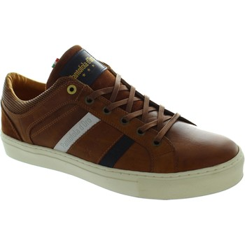Shoes Men Low top trainers Pantofola d'Oro Monza Uomo Low Tortoise Shell