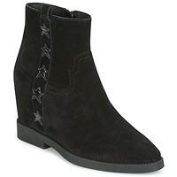 Shoes Women Mid boots Ash GOLDIE Black