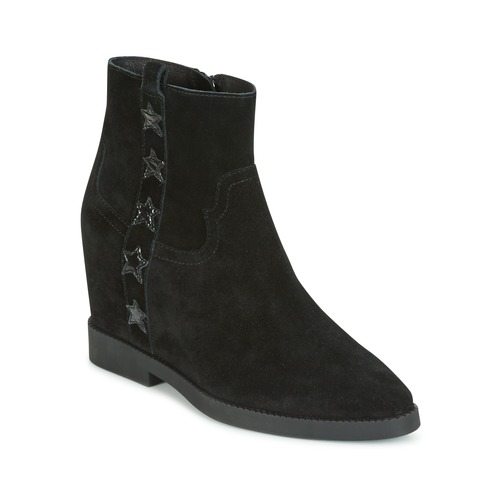 Shoes Women Mid boots Ash GOLDIE Black