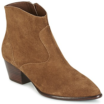 Shoes Women Ankle boots Ash HEIDI BIS Camel