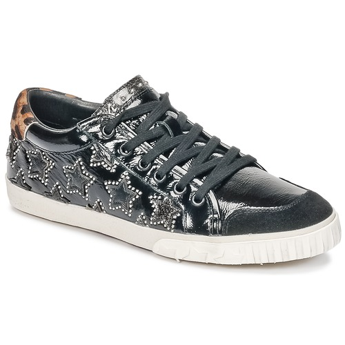 Shoes Women Low top trainers Ash MAJESTIC BIS Black