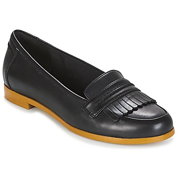 Shoes Women Flat shoes Clarks ANDORA CRUSH  black / Leather