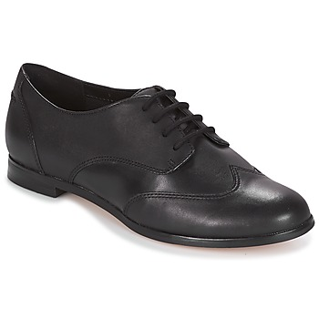 1930s Style Clothing and Fashion Clarks  ANDORA TRICK  womens Casual Shoes in Black £46.99 AT vintagedancer.com