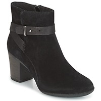 Shoes Women Ankle boots Clarks ENFIELD SARI  BLACK / Suede
