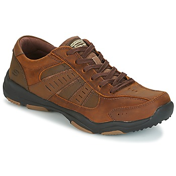 Shoes Men High boots Skechers LARSON NERICK Brown
