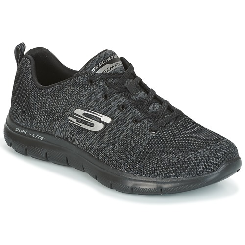 Shoes Women Low top trainers Skechers FLEX APPEAL HIGH ENERGY  black