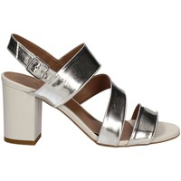 Shoes Women Sandals Mally 5679 High heeled sandals Women Grey Grey