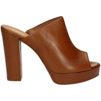 Shoes Women Sandals Carmens Padova A37391 High heeled sandals Women Brown Brown