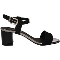 Shoes Women Sandals Carmens Padova A39066 High heeled sandals Women Black Black