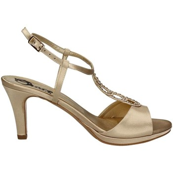Shoes Women Sandals Grace Shoes 2079 High heeled sandals Women Gold Gold