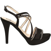 Shoes Women Sandals Grace Shoes 3067 High heeled sandals Women Black Black
