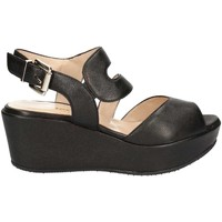 Shoes Women Sandals Grace Shoes SA19 Wedge sandals Women Black Black