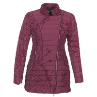Clothing Women Duffel coats Desigual GIORDO BORDEAUX