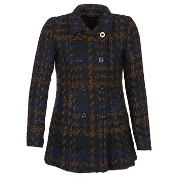 Clothing Women coats Desigual GERDA Multicoloured